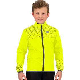 Sportful Reflex Jacket Kids yellow fluo